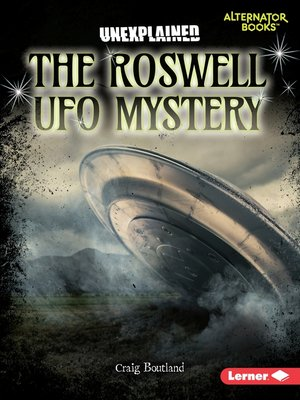cover image of The Roswell UFO Mystery