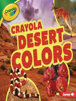 cover image of Crayola ® Desert Colors