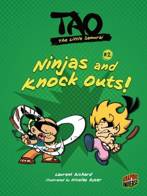 cover image of #2 Ninjas and Knock Outs!