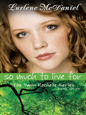 cover image of So Much to Live For