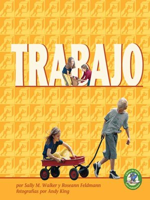 cover image of Trabajo (Work)