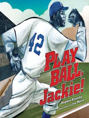 cover image of Play Ball, Jackie!