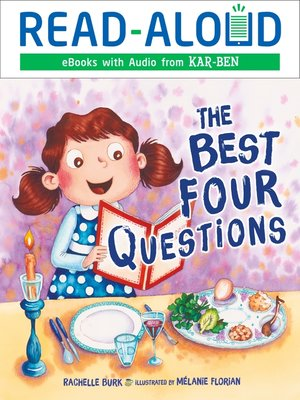 cover image of The Best Four Questions