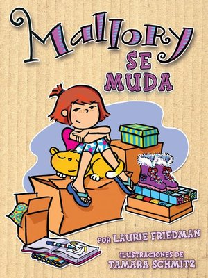 cover image of Mallory se muda (Mallory on the Move)