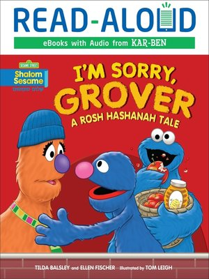 cover image of I'm Sorry, Grover