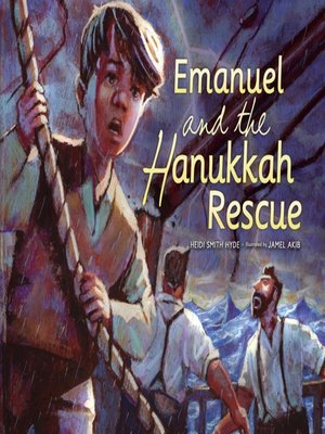 cover image of Emanuel and the Hanukkah Rescue