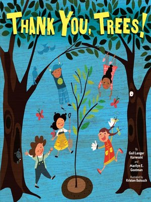 cover image of Thank You, Trees!