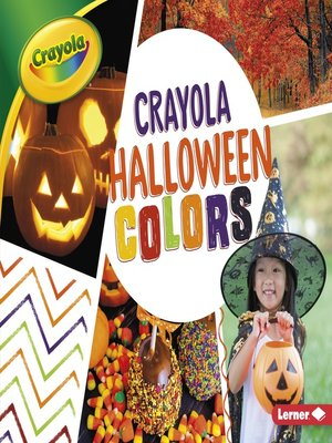 cover image of Crayola Halloween Colors