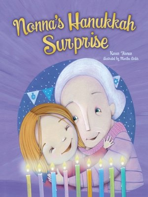 cover image of Nonna's Hanukkah Surprise