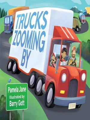 cover image of Trucks Zooming By
