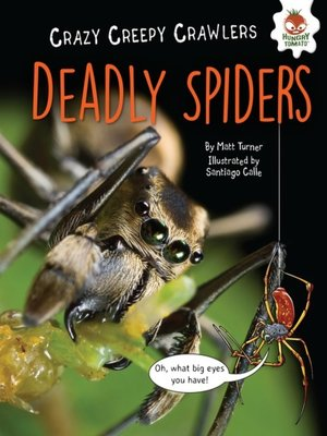 cover image of Deadly Spiders