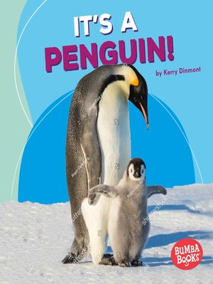 cover image of It's a Penguin!
