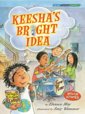 cover image of Keesha's Bright Idea
