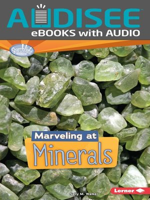 cover image of Marveling at Minerals