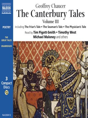 cover image of The Canterbury Tales III