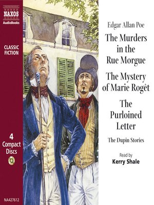 cover image of Murders in the Rue Morgue