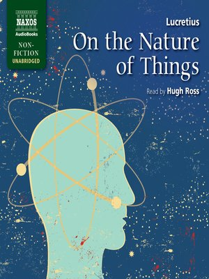 cover image of On the Nature of Things