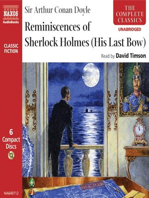 cover image of Reminiscences of Sherlock Holmes