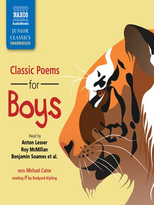 cover image of Classic Poems for Boys