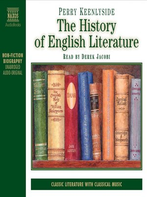 cover image of The History of English Literature