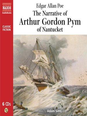 cover image of The Narrative of Arthur Gordon Pym
