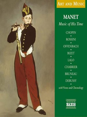 cover image of Manet