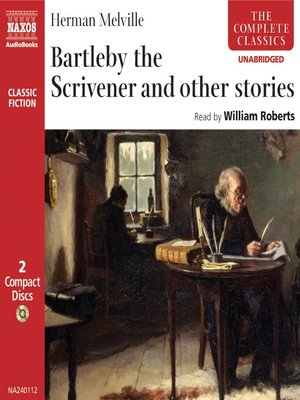 cover image of Bartleby the Scrivener and other stories