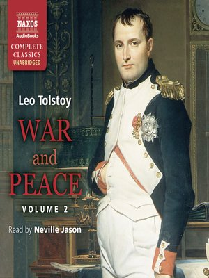 cover image of War and Peace, Volume 2