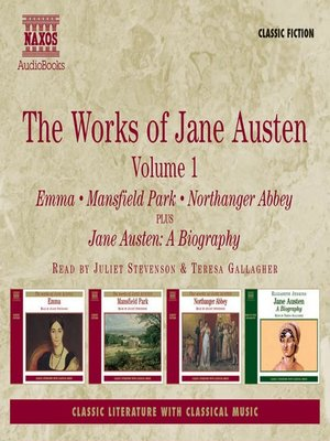 cover image of The Works of Jane Austen, Volume 1