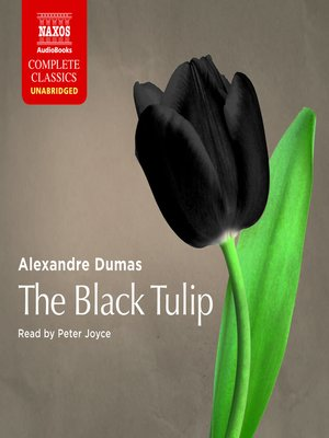 cover image of The Black Tulip
