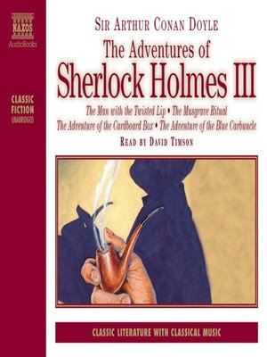 cover image of The Adventures of Sherlock Holmes, Volume 3
