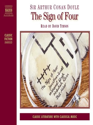 cover image of The Sign of Four