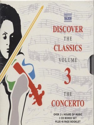 cover image of Discover the Classics, Volume 3
