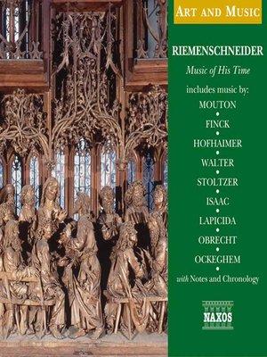 cover image of Riemenschneider