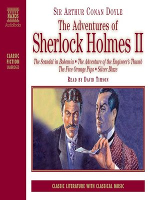 cover image of The Adventures of Sherlock Holmes, Volume 2