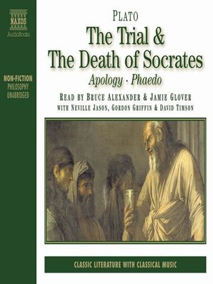 cover image of The Trial & the Death of Socrates