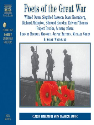 cover image of Poets of the Great War