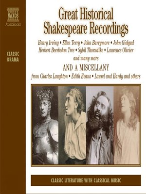 cover image of Great Historical Shakespeare Recordings