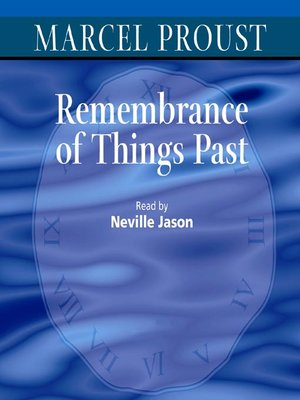 cover image of Remembrance of Things Past
