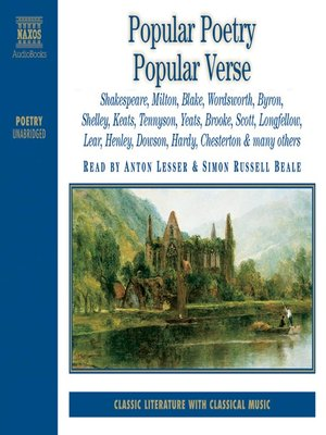 cover image of Popular Poetry, Popular Verse, Volume 1