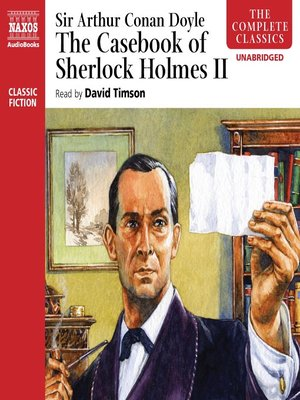 cover image of The Casebook of Sherlock Holmes II