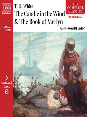 cover image of The Candle in the Wind / The Book of Merlyn