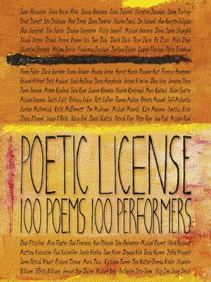 cover image of Poetic License