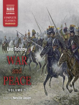 cover image of War and Peace, Volume I