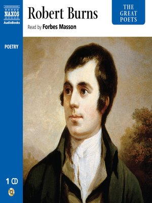 cover image of The Great Poets--Robert Burns