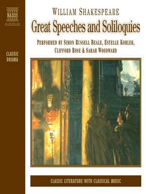 cover image of Great Speeches and Soliloquies