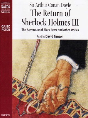 cover image of The Return of Sherlock Holmes, Volume 3