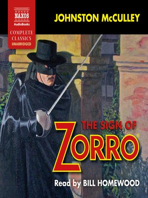 cover image of The Sign of Zorro