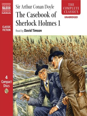 cover image of The Casebook of Sherlock Holmes I