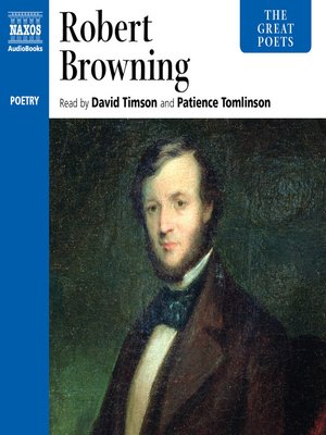 cover image of The Great Poets--Robert Browning